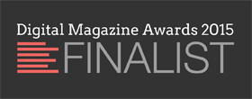 Digital Magazine Awards 2015 Finalist