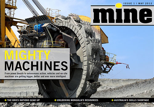 MINE Magazine Issue 1, May 2012