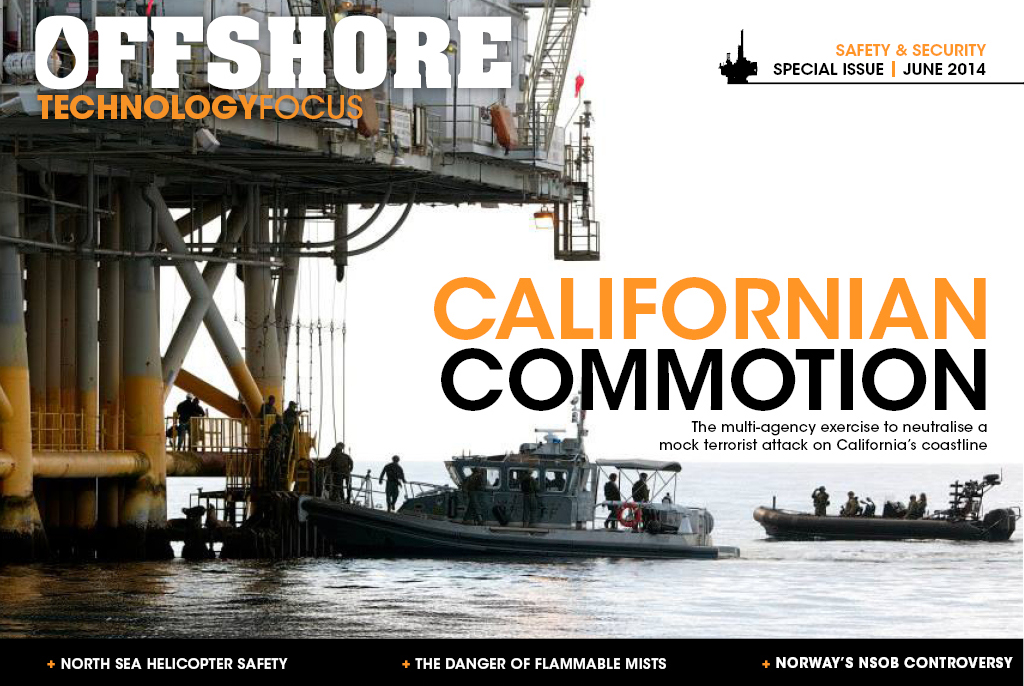 Offshore Technology Focus Saftey & Security Special Issue, June 2014