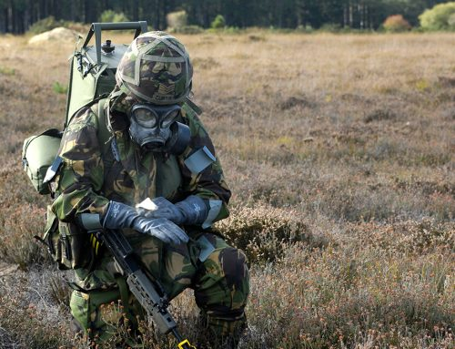 Countering chemical attacks: a look inside the UK's military response training