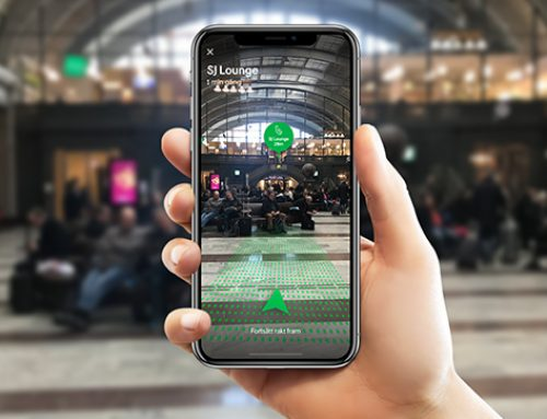 The artificial reality app helping passengers navigate Stockholm Central station