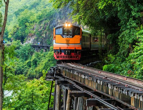 Don't look down: the world's most dangerous railway journeys