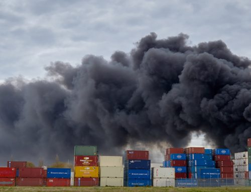 What can we do to prevent fires on container ships?