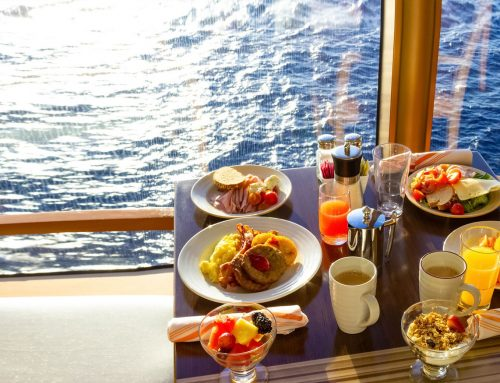 Are cruise operators paying attention to food trends?